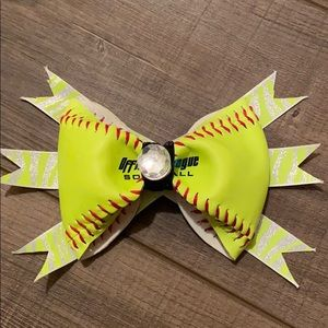 Softball Hair Clip
